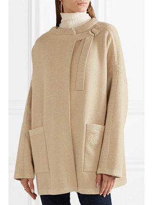 Chloe oversized wool-blend jacket