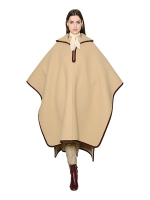 Chloe Oversized wool & cashmere cape