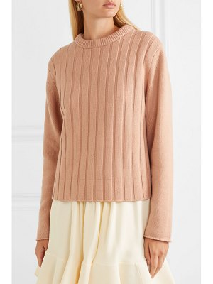 Chloe ribbed cashmere sweater
