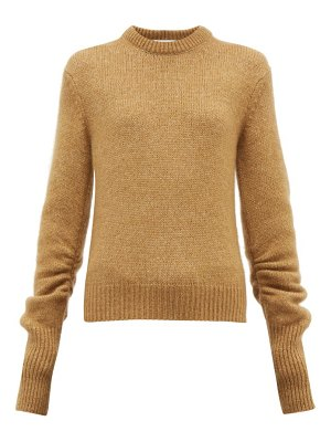 Chloe ruched sleeve sweater