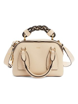 Chloe small daria leather day bag