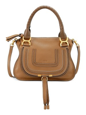 Chloe small marcie leather satchel