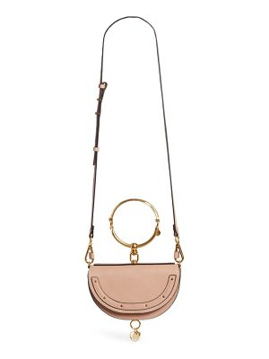 CHLOE Small Nile Bracelet Calfskin Leather Minaudiere