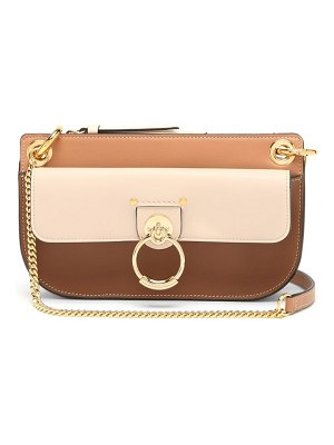 Chloe tess mini leather cross-body bag