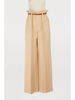Chloe Wide leg trousers
