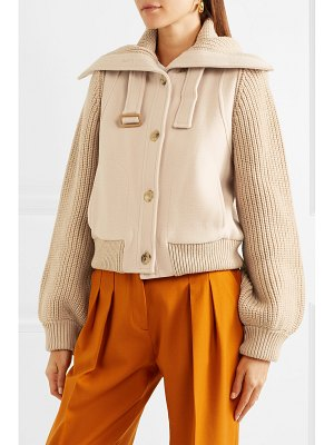 Chloe wool bomber jacket