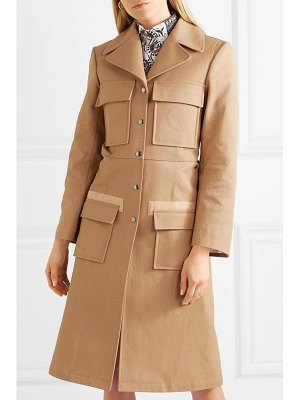 Chloe woven cotton trench coat