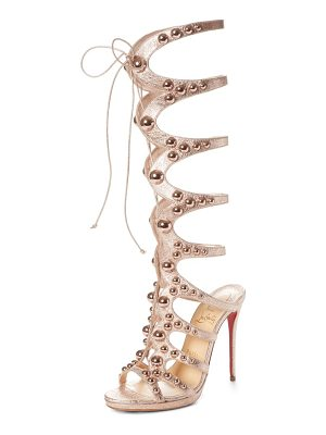 CHRISTIAN LOUBOUTIN Amazoutiful Ghillie Cage Sandal