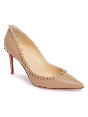 CHRISTIAN LOUBOUTIN Anjalina Spiked Pointy Toe Pump