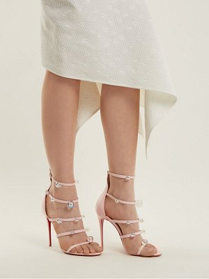 Christian Louboutin Antonana 100 patent-leather sandals