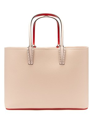 Christian Louboutin cabata grained leather tote