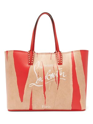 Christian Louboutin Cabata Kraft leather tote
