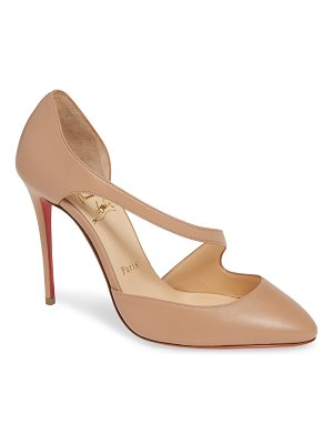 Christian Louboutin catchy one strappy d'orsay pump