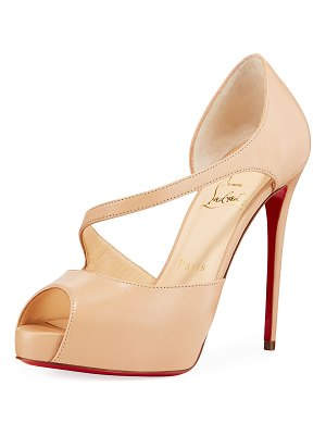 Christian Louboutin Catchy Two Red Sole Pumps