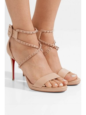 Christian Louboutin choca lux 100 studded leather sandals