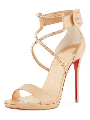 Christian Louboutin Choca Lux High Red Sole Sandal