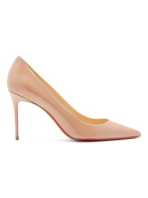 Christian Louboutin Decolette 85 patent-leather pumps
