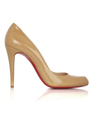 Christian Louboutin décolleté 100 leather pumps