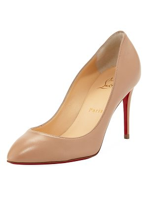 Christian Louboutin Eloise 85mm Napa Leather Red Sole Pump