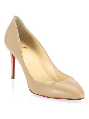 Christian Louboutin eloise 85 leather pumps