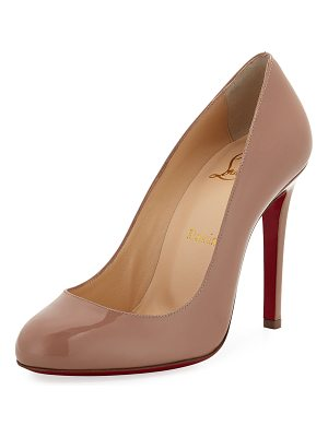 Christian Louboutin Fifille Patent Red Sole Pump