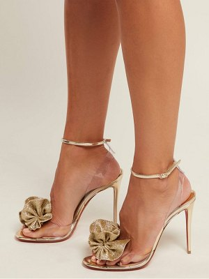 Christian Louboutin fossiliza 100 flower embellished sandals