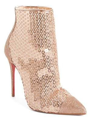 Christian Louboutin gipsy sequin bootie