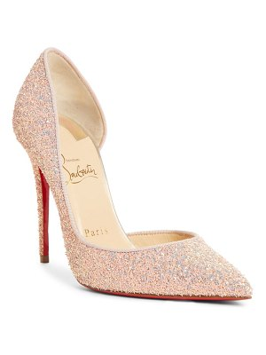 Christian Louboutin iriza open side pump