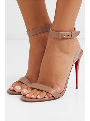 Christian Louboutin jonatina pvc-trimmed leather sandals