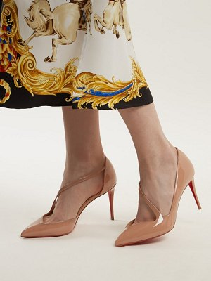 Christian Louboutin Jumping 85 Patent Leather Pumps