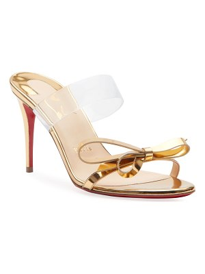 Christian Louboutin Just Nodo 85 Red Sole Sandals