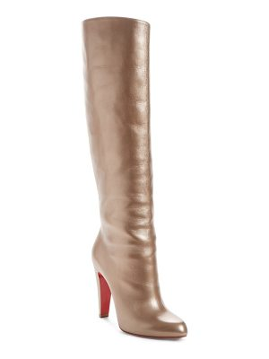 Christian Louboutin knee-high boot