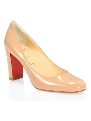 Christian Louboutin lady gena 85 patent leather pumps