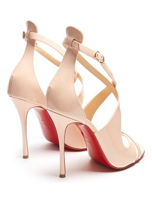 Christian Louboutin malefissima 125 patent leather pumps