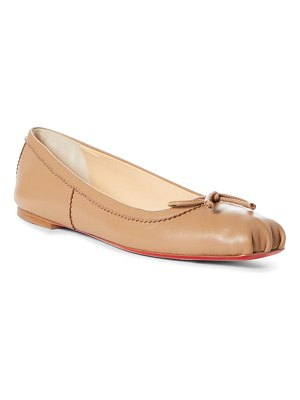 Christian Louboutin mamadrague square toe ballet flat