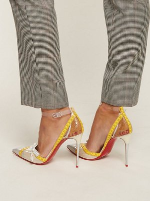Christian Louboutin Metripump 100 Tape Embellished Pumps