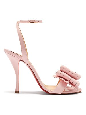 Christian Louboutin Miss Valois 115 patent-leather sandals