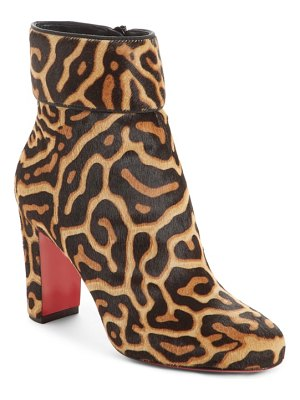 Christian Louboutin moulamax genuine calf hair bootie