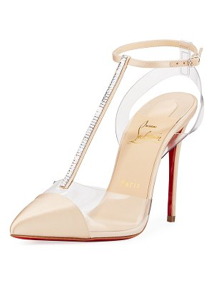 Christian Louboutin Nosy Strass Red Sole Pumps