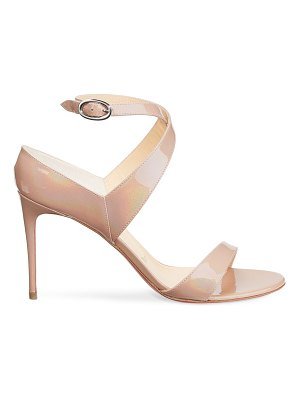 Christian Louboutin open liloo patent leather sandals