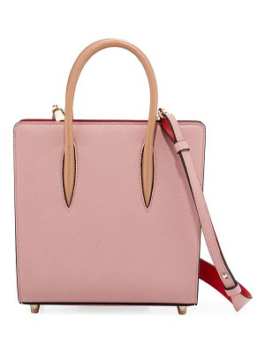 CHRISTIAN LOUBOUTIN Paloma Small Spike Leather Tote Bag