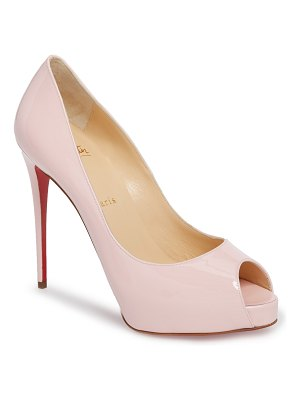 Christian Louboutin 'prive' open toe pump