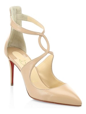 Christian Louboutin rosas 85 leather pumps
