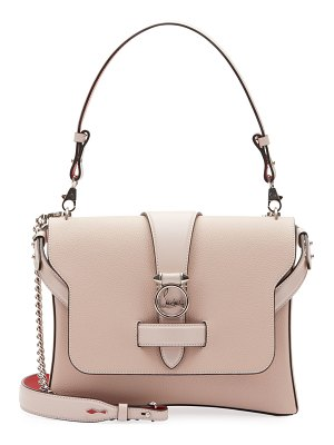 Christian Louboutin Ruby Lou Medium Calf Empire Shoulder Bag