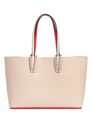 Christian Louboutin small cabata calfskin leather tote