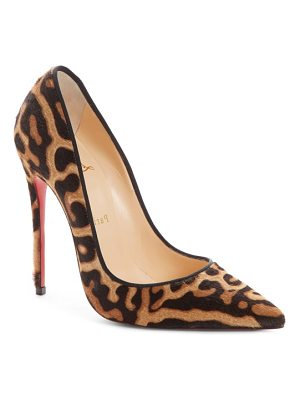 Christian Louboutin so kate genuine calf hair pump