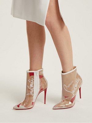 Christian Louboutin so kate kraft 100 loubi print ankle boots