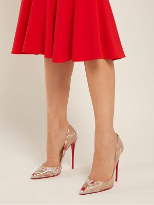 Christian Louboutin So Kate Louis Kraft 120 Pumps