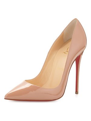 Christian Louboutin So Kate Patent Red Sole Pump