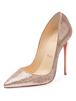 CHRISTIAN LOUBOUTIN So Kate Sequined Red Sole Pump